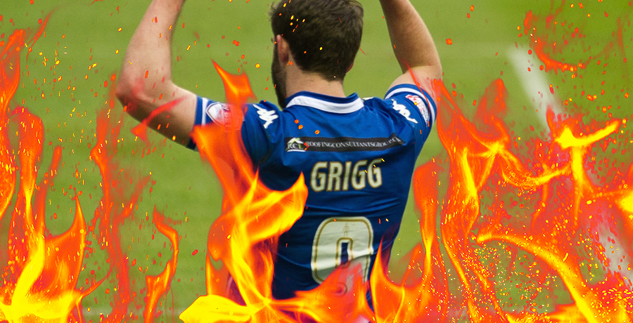 WATCH: All 25 Of Will Grigg's Goals To The Tune Of Freed From Desire