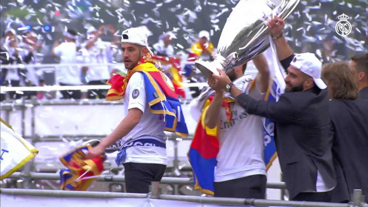 WATCH: Real Madrid Celebrate 11th Champions League Victory
