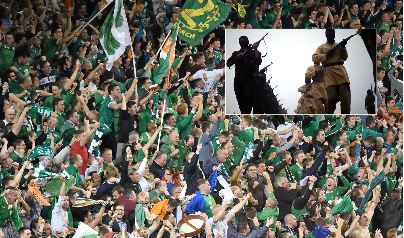 PODCAST: Irish fans won't cower from terrorism