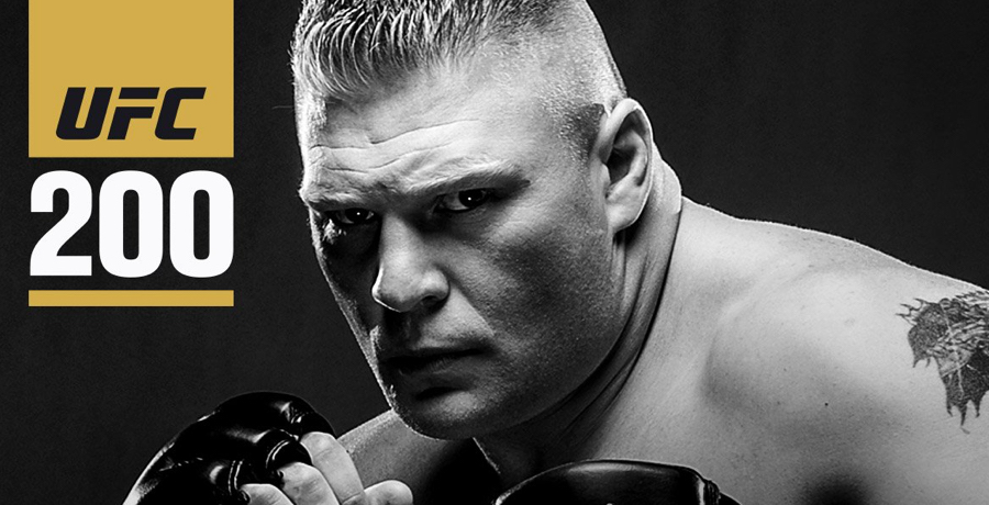 Brock Lesnar Opponent For UFC 200 Announced