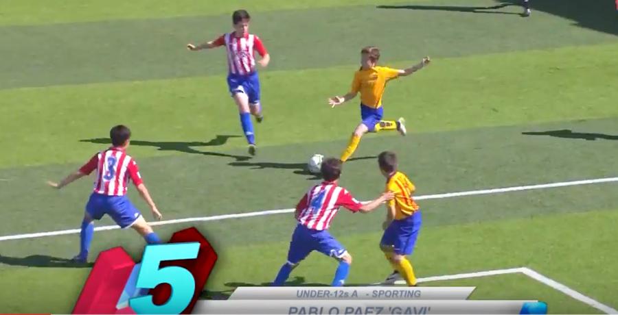 WATCH: Barcelona's La Masia Academy Top 5 Goals Of The Week