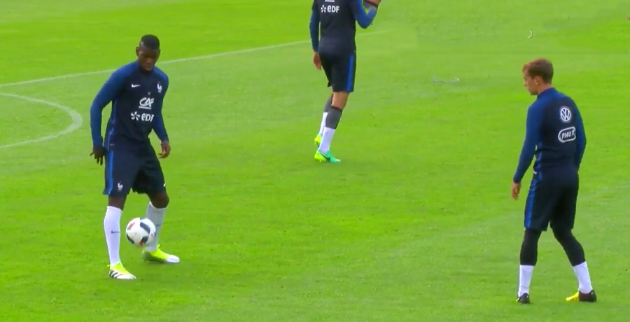 Pogba And Griezmann Put On Ridiculous Skills Show At France Training