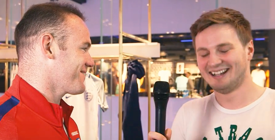 VIDEO: Wayne Rooney Reveals His Favourite Ever Euro Moment