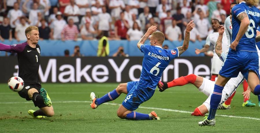Icelandic Commentator Goes CRAZY As Iceland Score Winning Goal v England