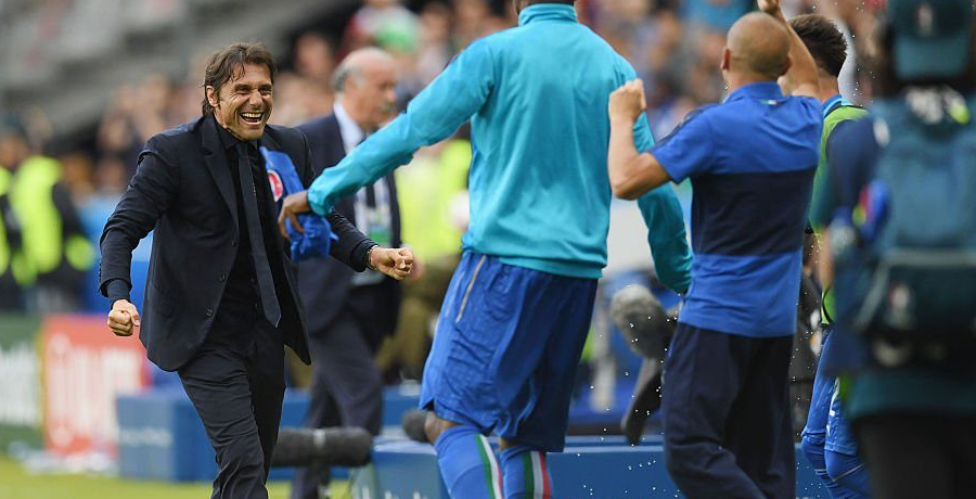 Antonio Conte Voted Man Of The Match On Danish TV