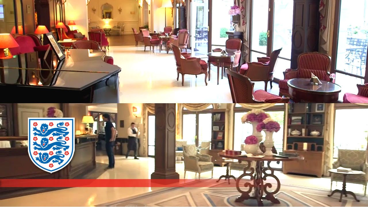 Inside England's Euro 2016 Hotel And Training Camp In Chantilly, France