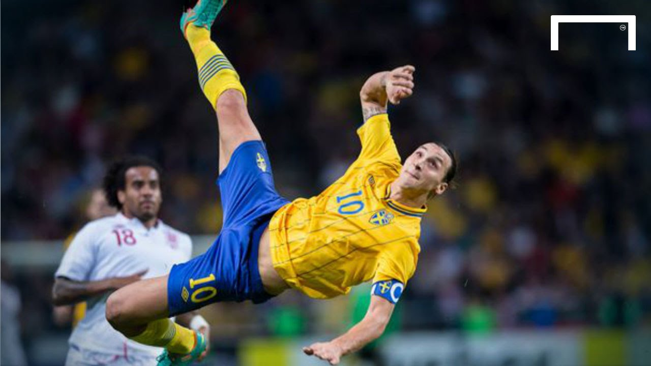 WATCH: That Ridiculous Zlatan Ibrahimovic Bicycle Kick Against England