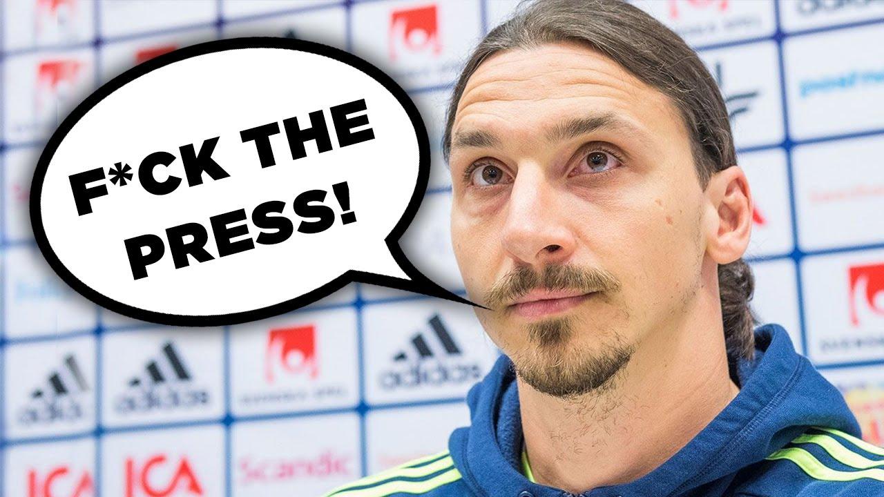 WATCH: Zlatan Ibrahimovic Pranks The Press