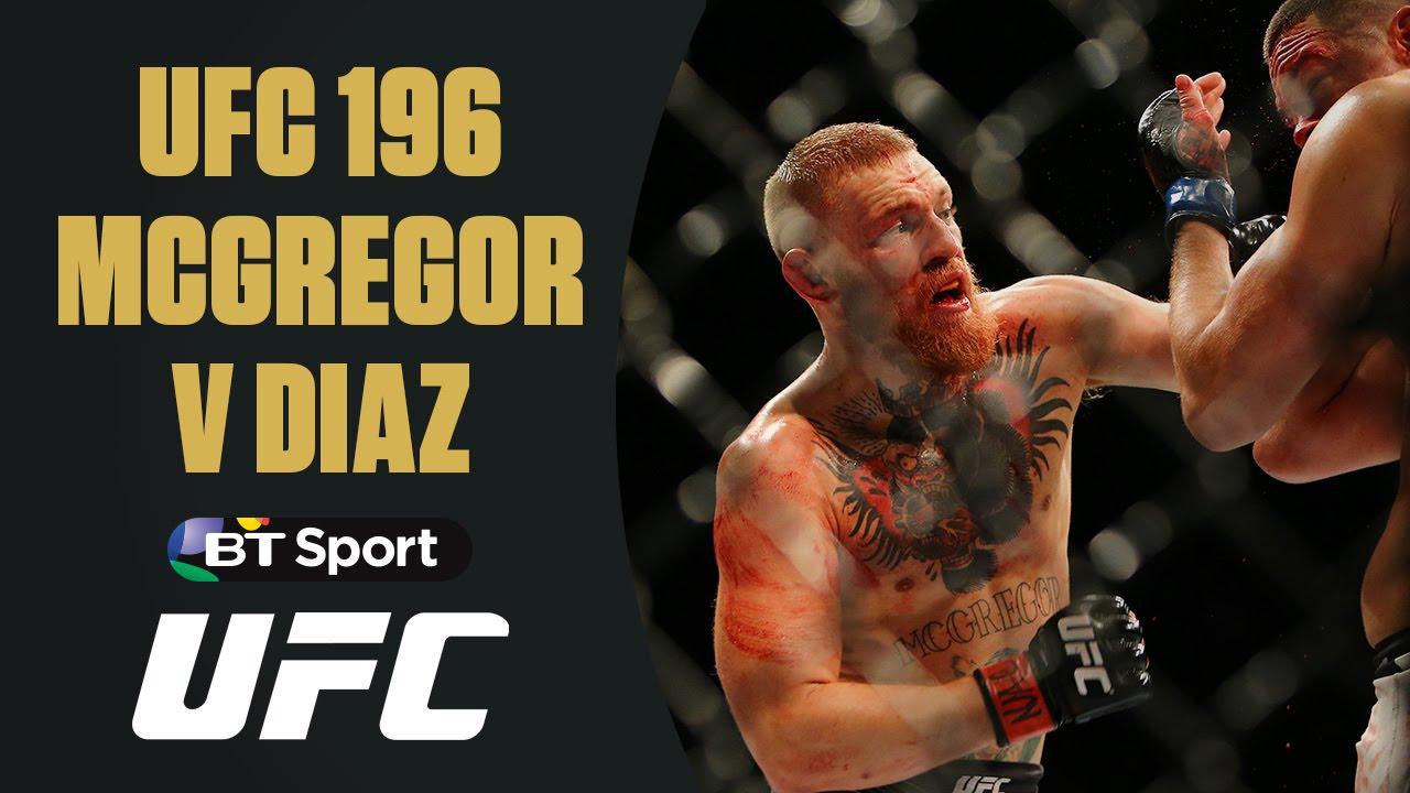 VIDEO: Conor McGregor v Nate Diaz | UFC 196 | Full Fight