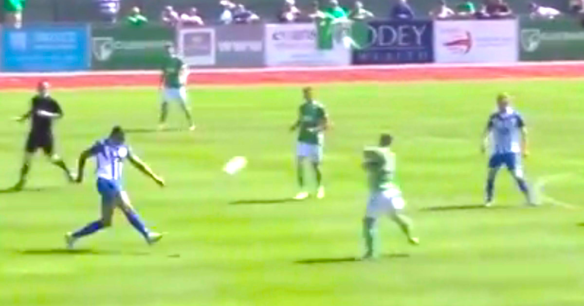 VIDEO: Bizarre Goal Scored In Preliminary Round Of FA Cup Due To Wind
