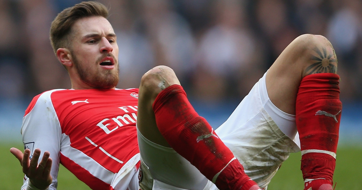 Pic Aaron Ramsey Is The Latest Footballer To Get An Absolutely