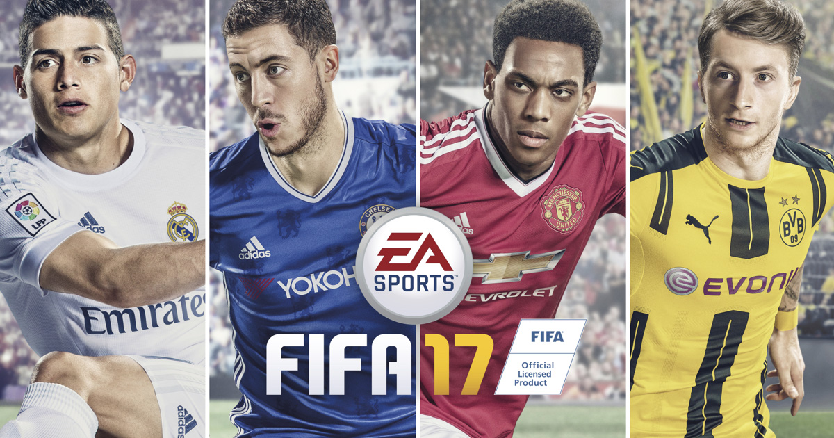 EA Release The Official Top 20 Players For FIFA 17