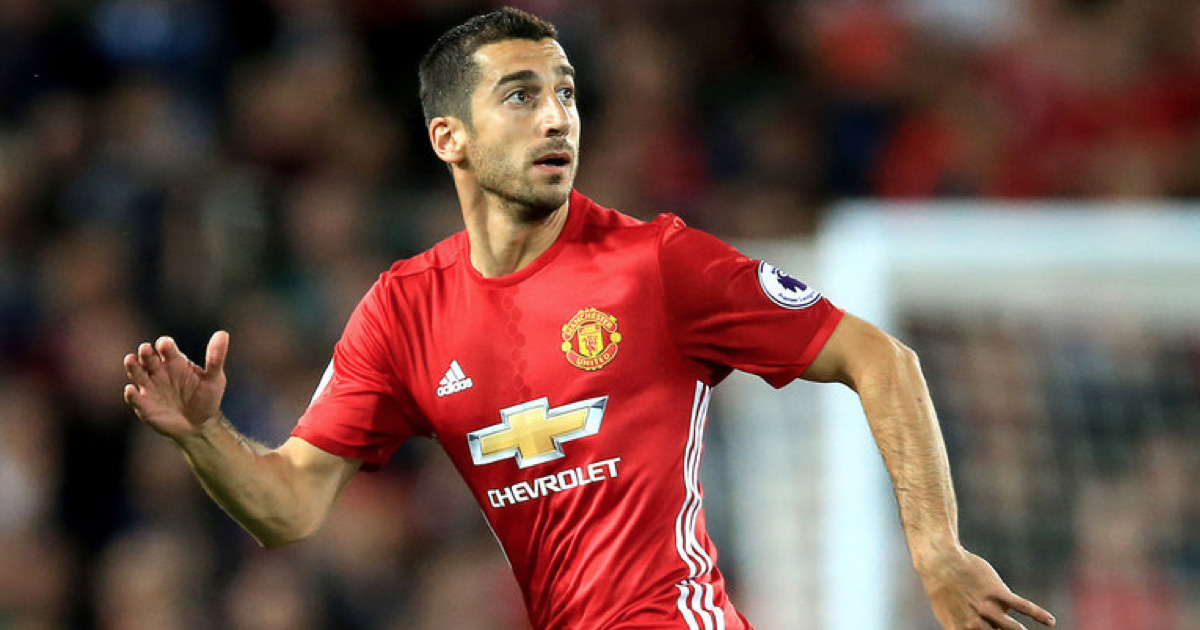 Henrikh Mkhitaryan Expected To Miss Manchester Derby