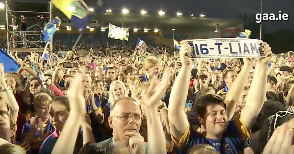 VIDEO: 2016 All-Ireland Champions Tipperary Celebrate In Style