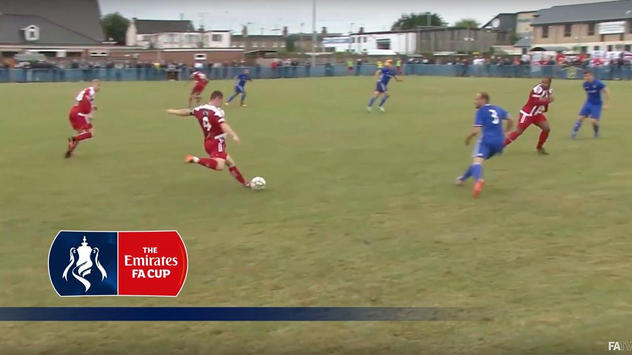WATCH: Stourbridge Score 50-Yard Beckham-esque Goal