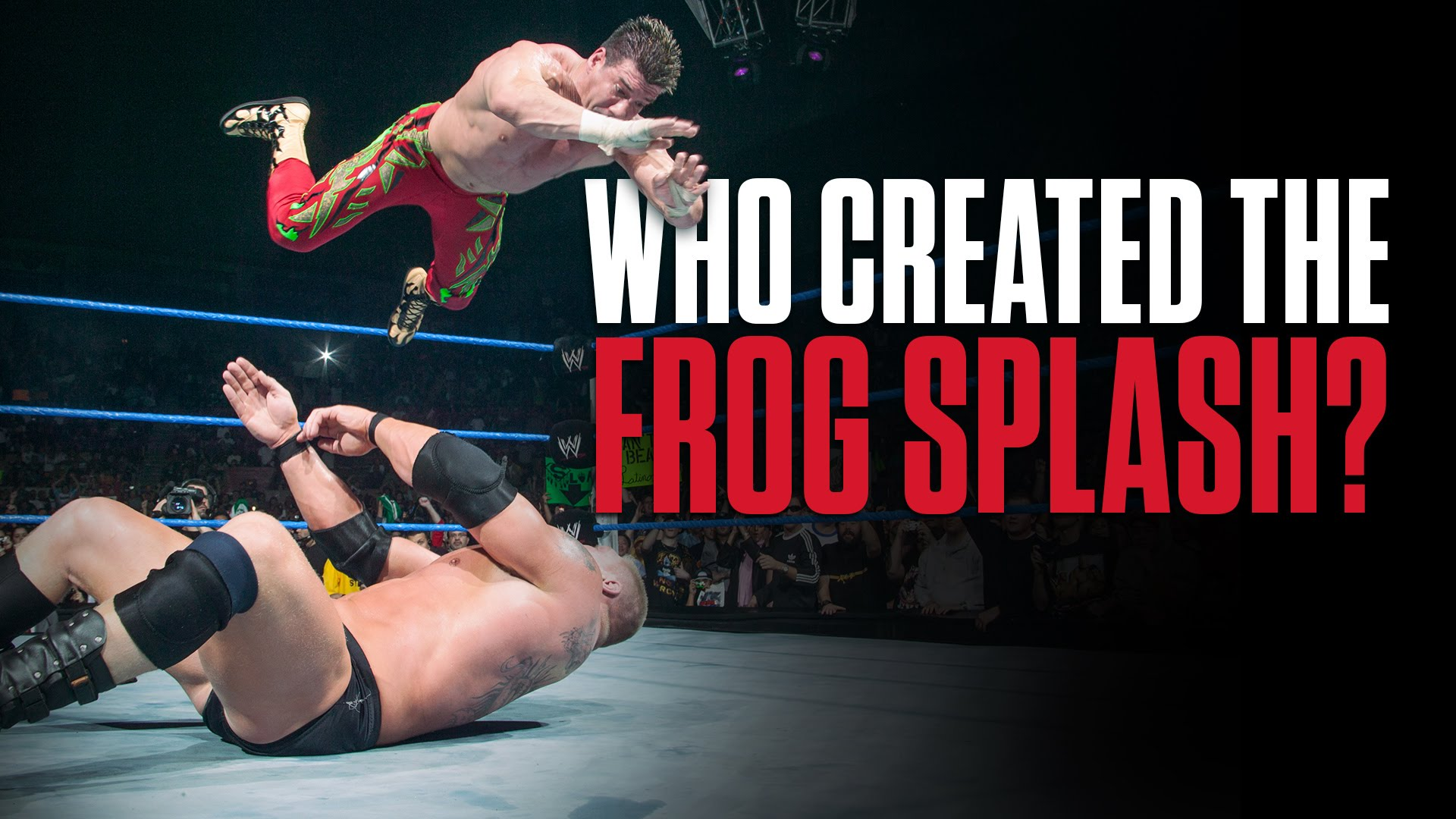 WWE: Who Invented The Frog Splash?