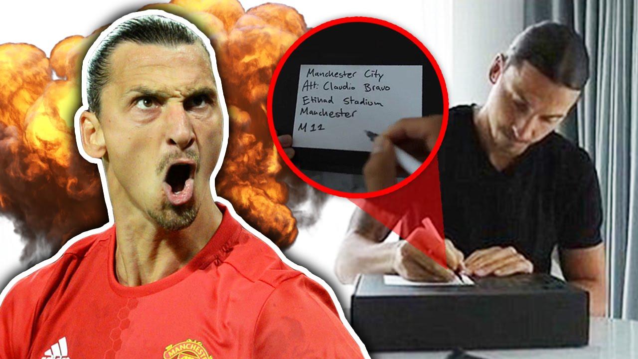 Zlatan Ibrahimovic Trolls Manchester City Star Before Derby