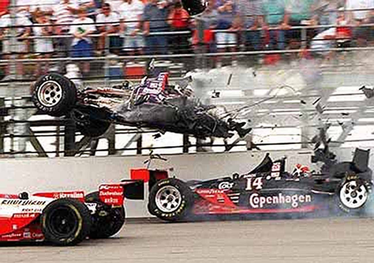 VIDEO: The Death Of Jeff Krosnoff: The Worst Indy Car Crash Of All Time