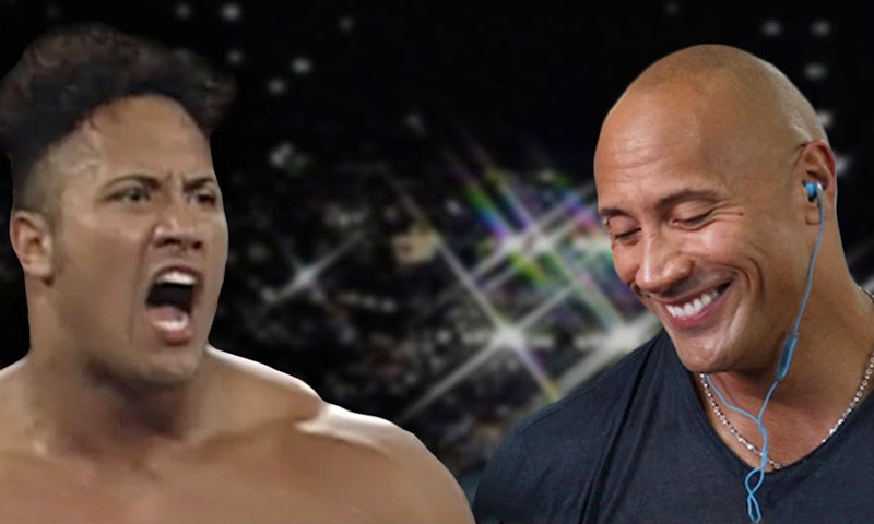 WATCH: The Rock Gives Electrifying Commentary Of His WWF Debut