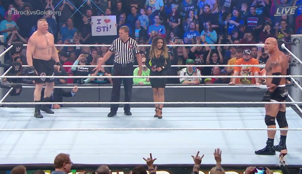 WATCH: Brock Lesnar v Goldberg (FULL FIGHT)