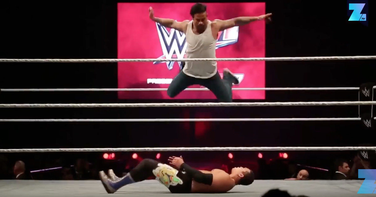 WATCH: Tim Wiese Has Kicked Off His WWE Career With A Spectacular Victory