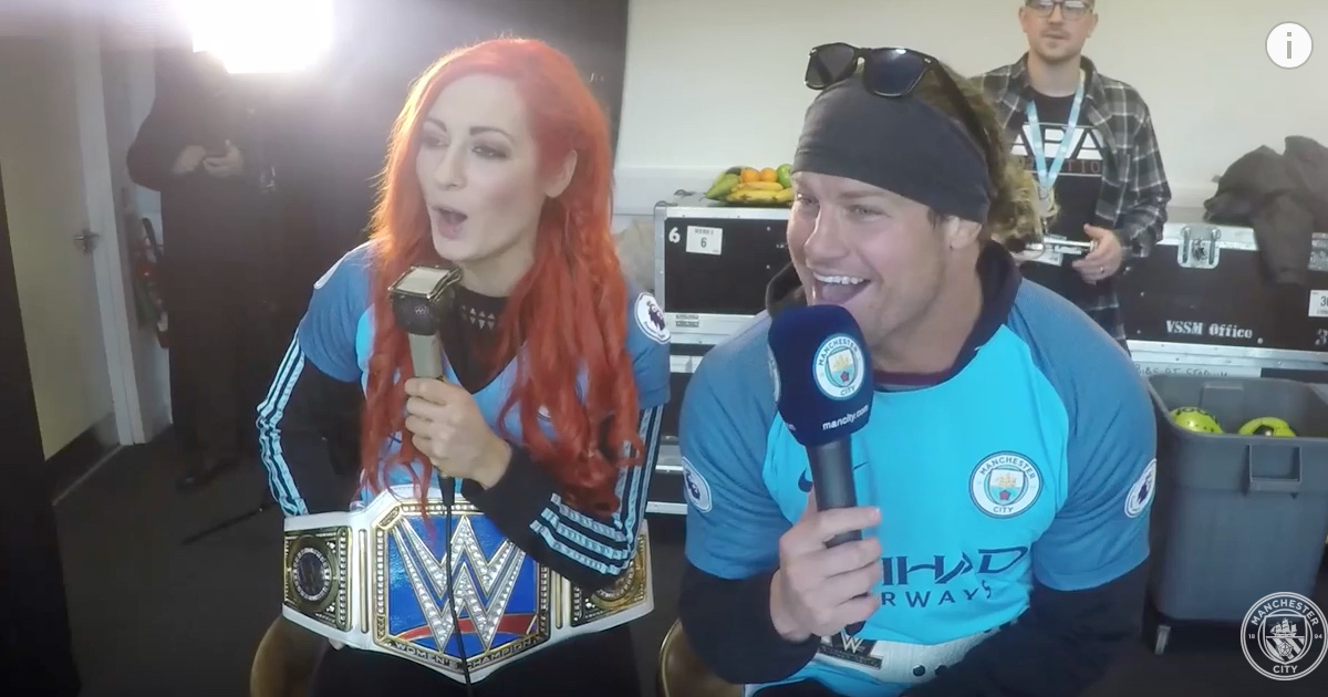 WATCH: WWE Superstars Commentate On Manchester City v Middlesbrough Game