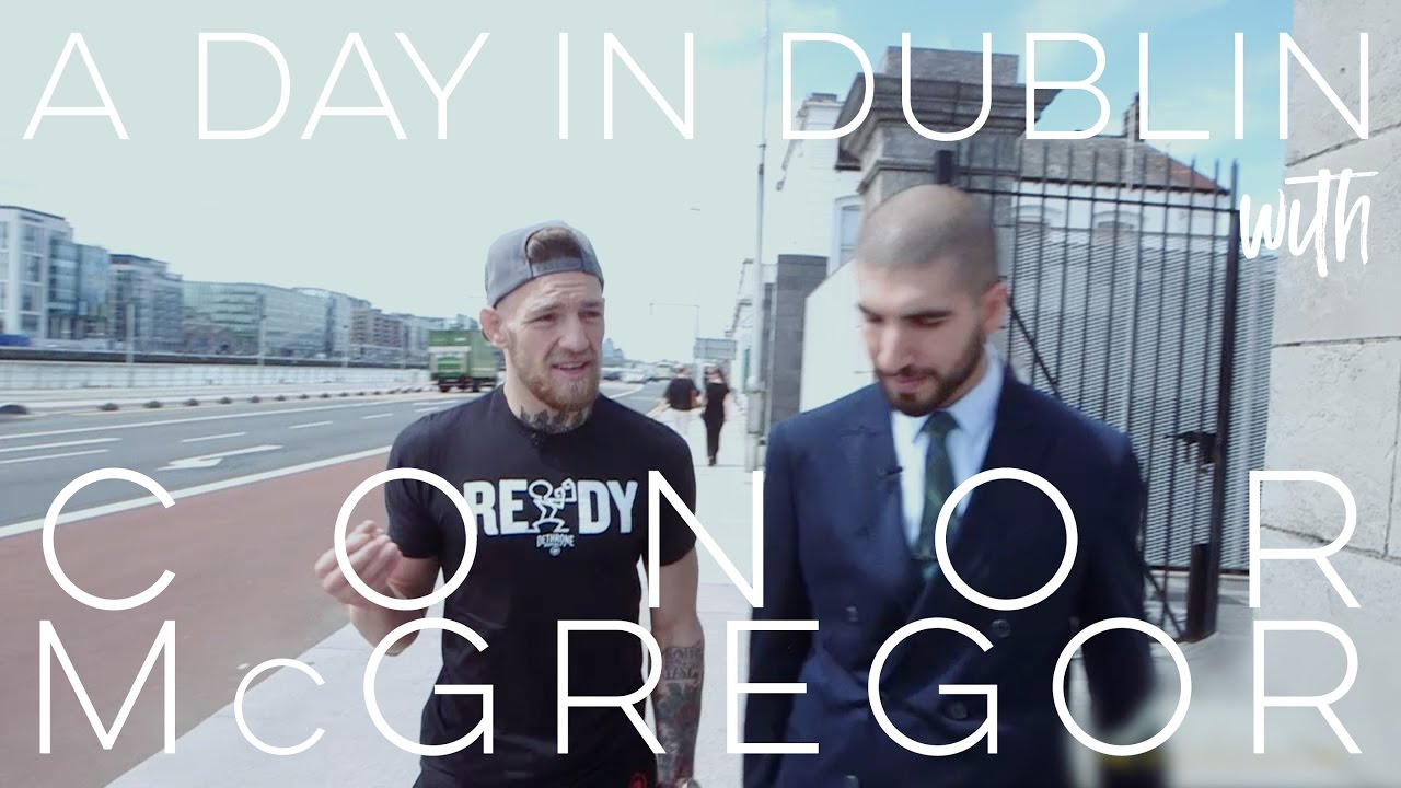 WATCH: Ariel Helwani Spends A Day in Dublin With Conor McGregor
