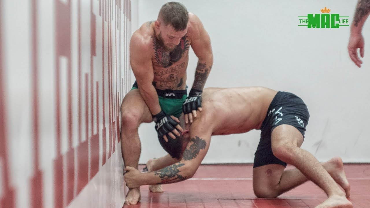 WATCH: Conor McGregor Trains In New York Ahead Of UFC 205