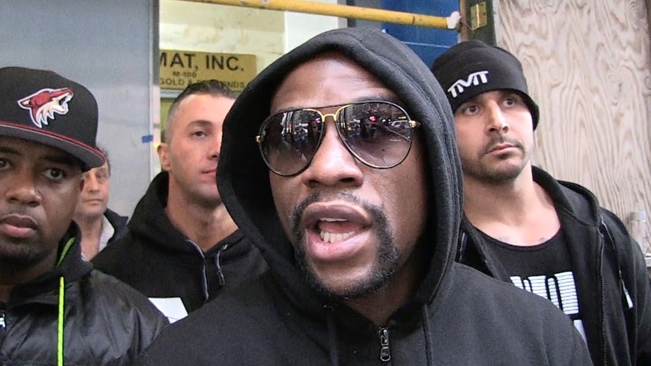 WATCH: Floyd Mayweather Doesn't Like Being Compared To Conor McGregor One Bit