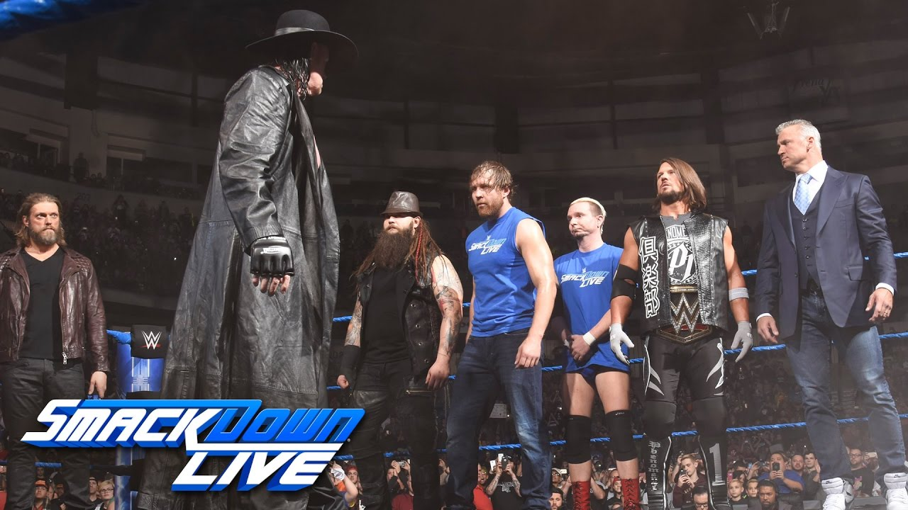 WATCH: The Undertaker Returns On SmackDown With A Haunting Survivor Series Warning