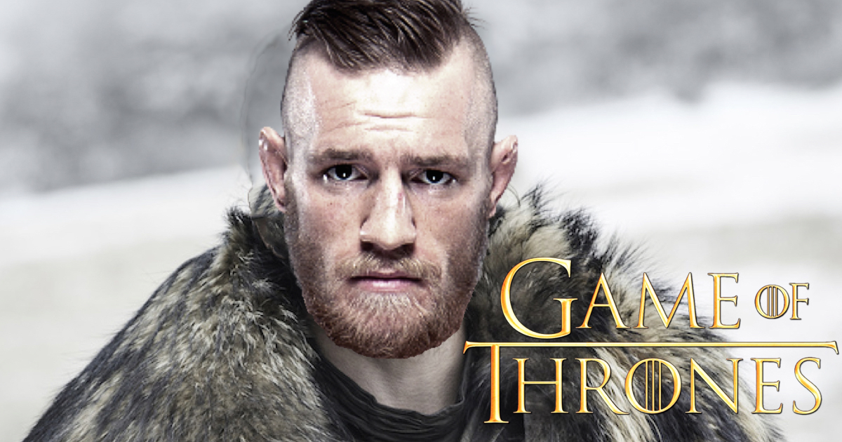Conor McGregor Set To Star In Hit TV Show Game Of Thrones