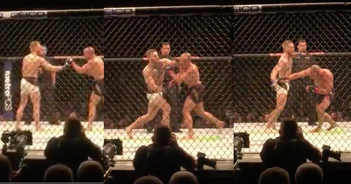 WATCH: New Footage Shows Just How Fast Conor McGregor's Hands Were Against Eddie Alvarez