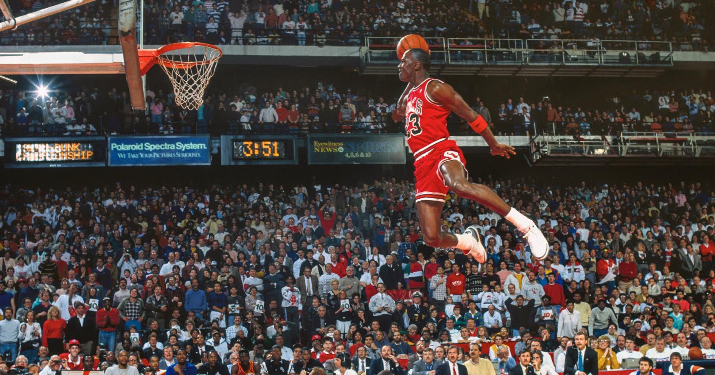 WATCH: 1988 NBA Slam Dunk Contest - Michael Jordan vs ...
