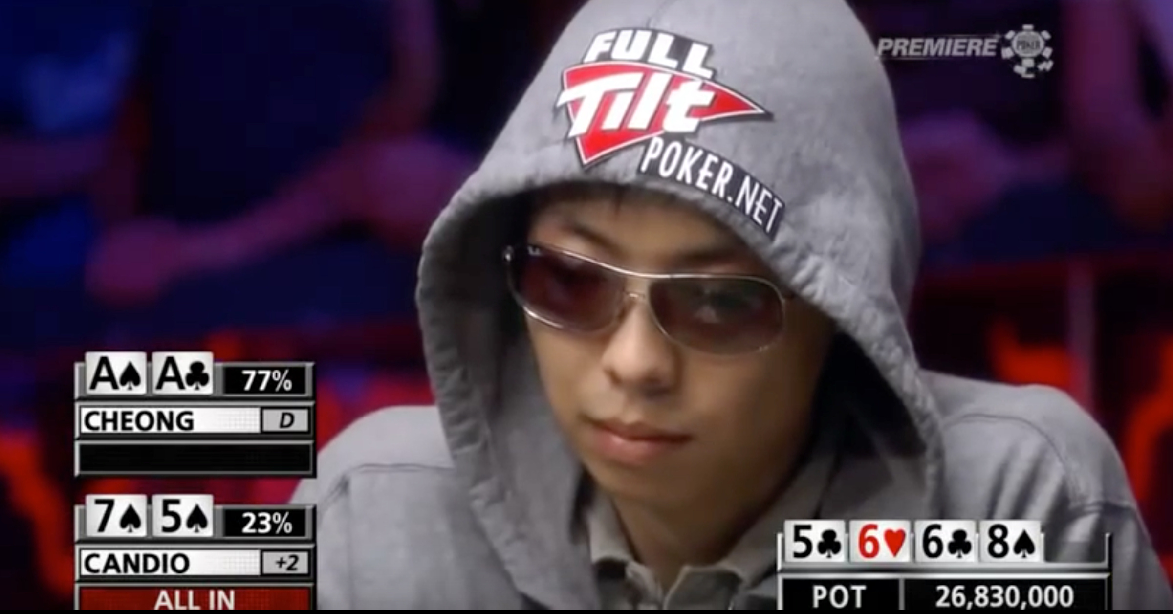 WATCH: Guy Loses His Mind After Winning $26,000,000 Hand In Poker