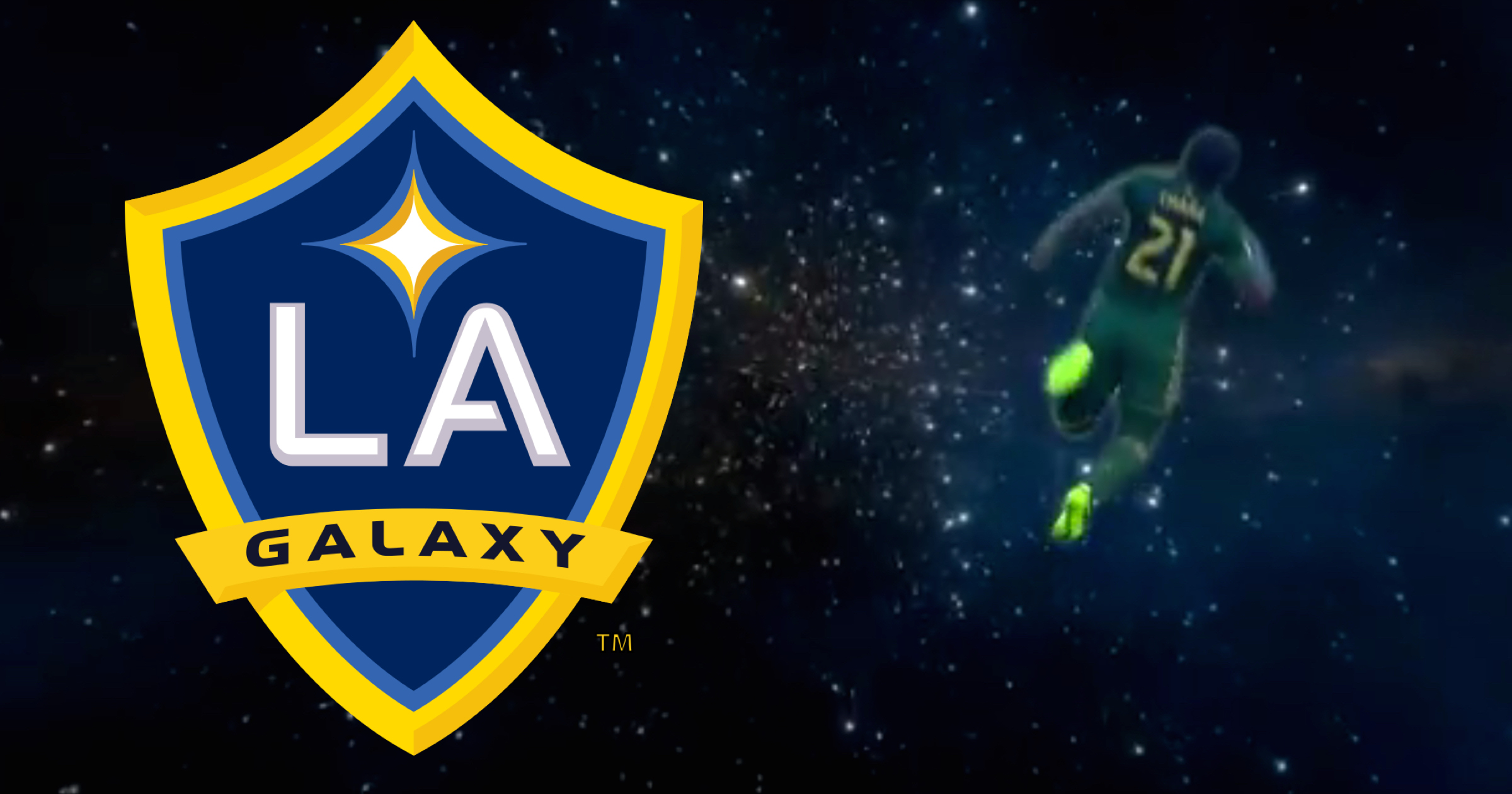 LA Galaxy Troll Portland Timbers Spectacularly With Superb Shooting Stars Video