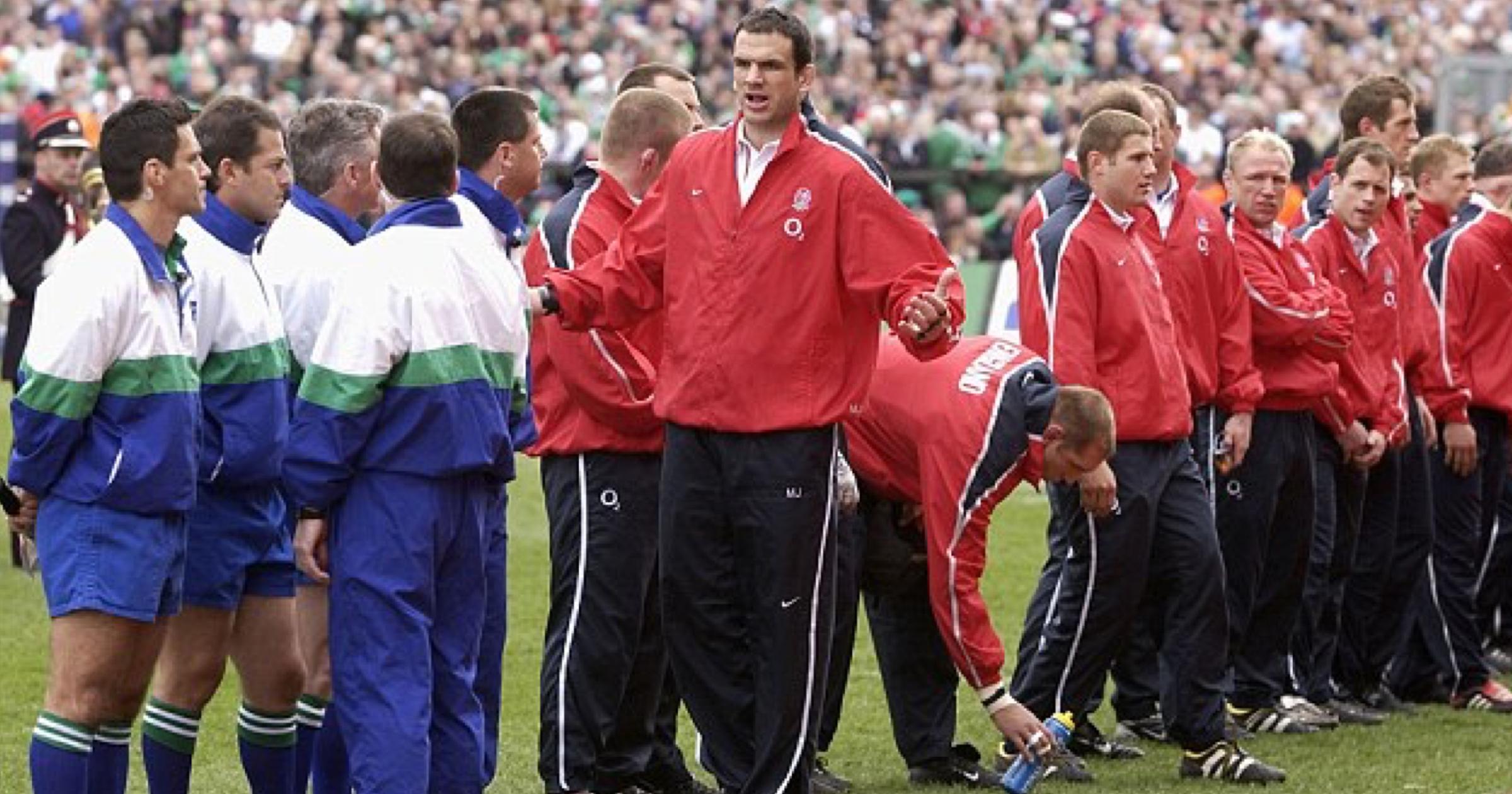 Throwback Ireland Vs England 2003 Mary Mcaleese Vs Martin Johnson Benchwarmers