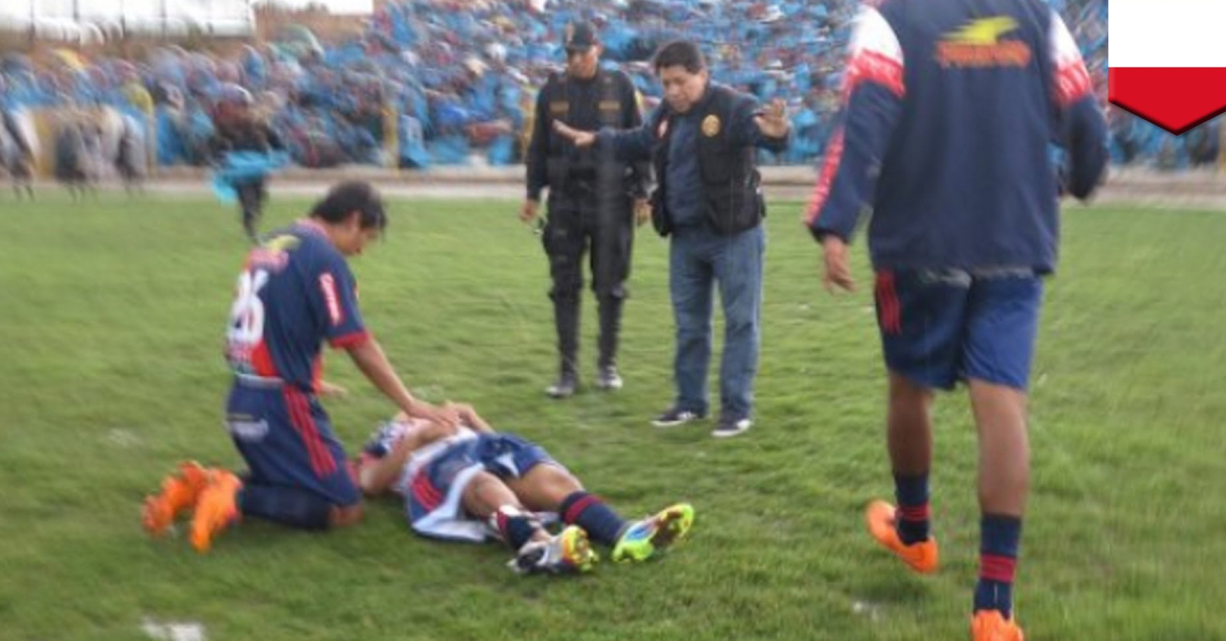 WATCH: Peruvian Football Player Survives Getting Struck By Lightning During Match