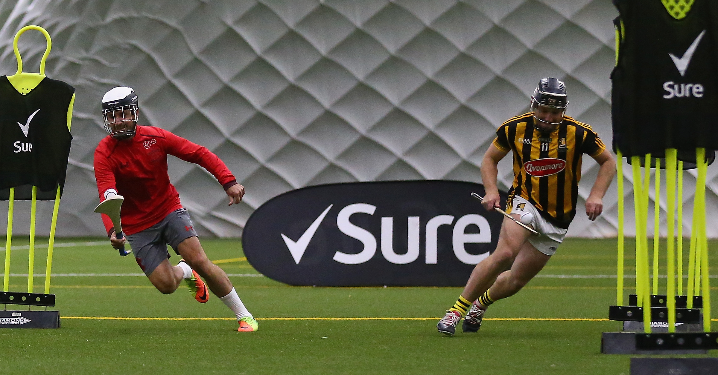 WATCH: Shane Long & Richie Hogan Go Head-To-Head In Hurling v Football Challenge