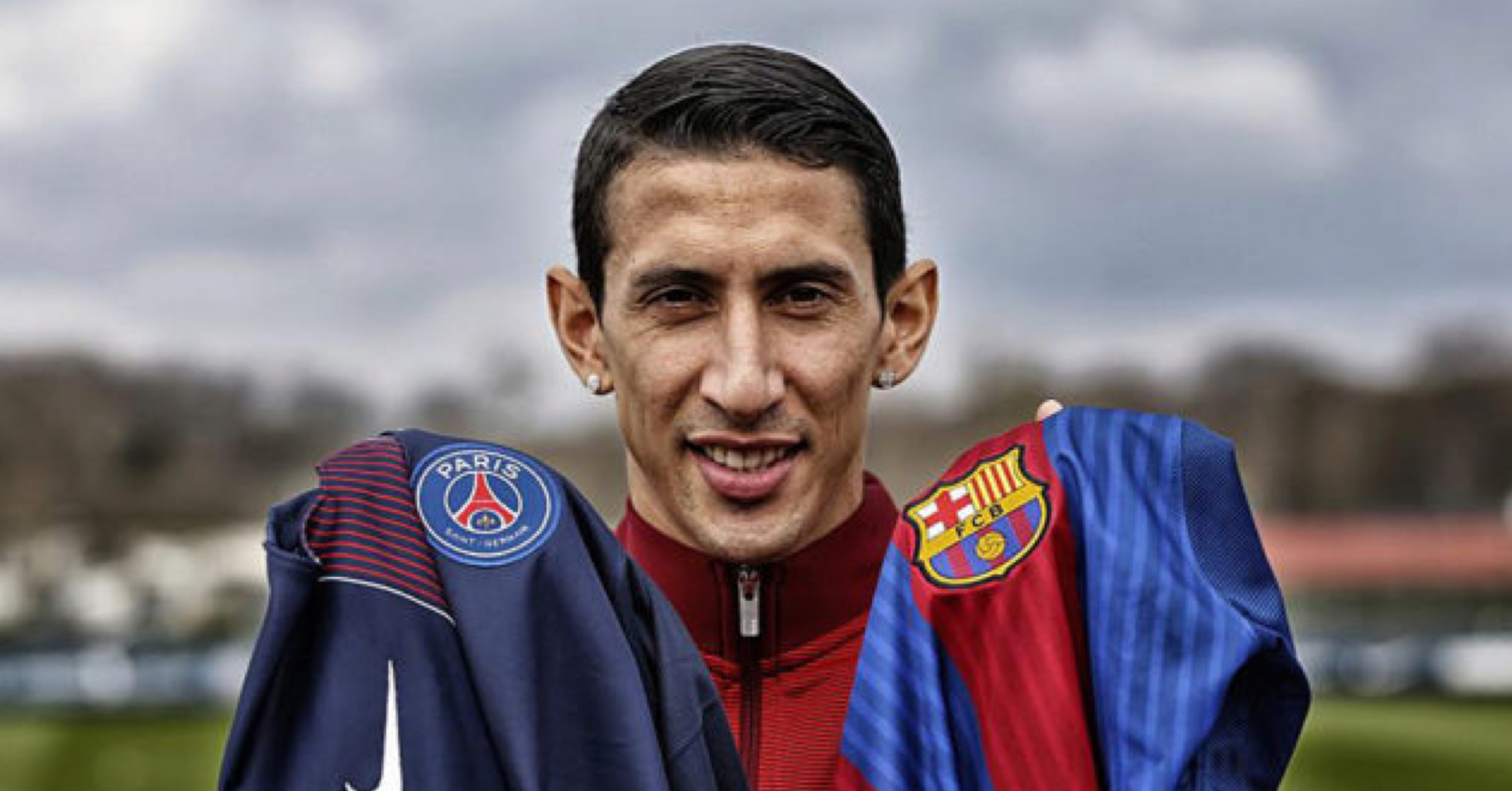 FC Barcelona Announce Signing Of Angel Di Maria – Or So It Would Seem