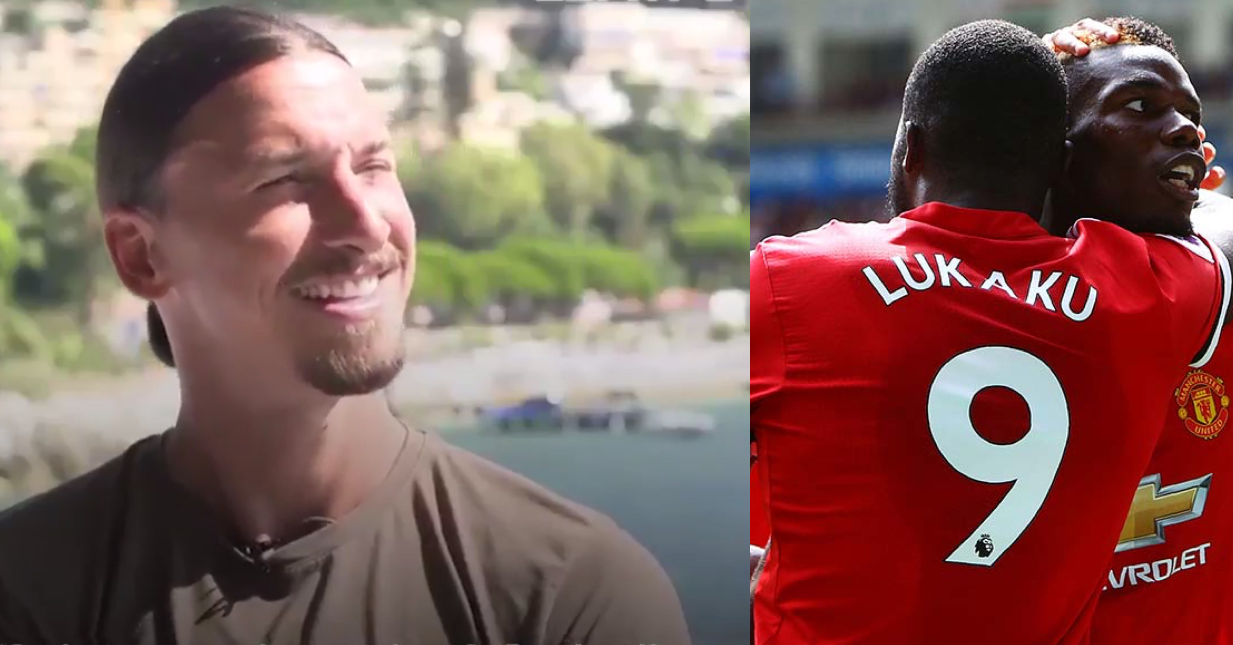 WATCH: Zlatan Reveals Why He Allowed Lukaku To Have The No.9 Shirt At Old Trafford