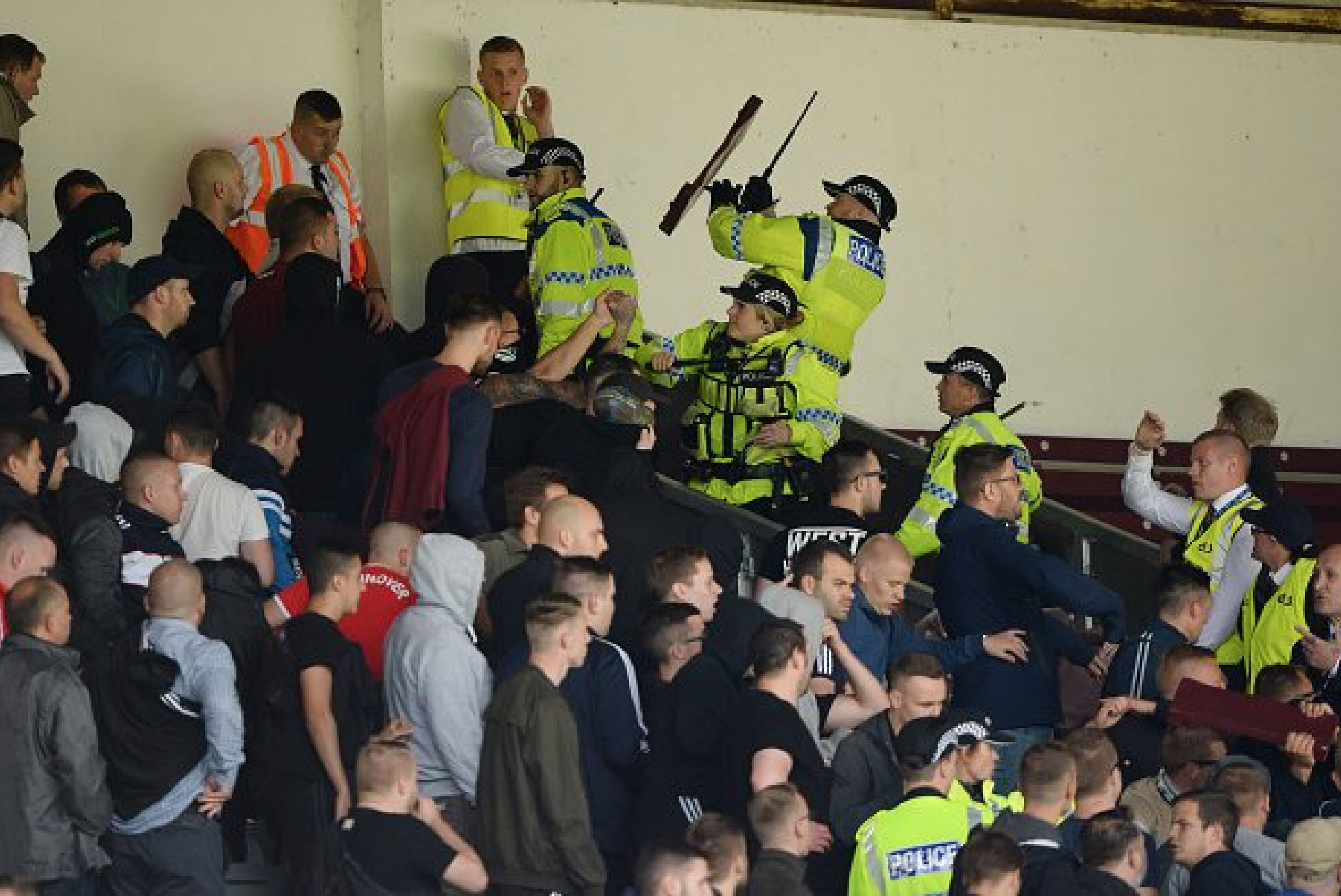 Burnley vs Hannover Has Been Abandoned On Police Advise For The Crowd's Safety