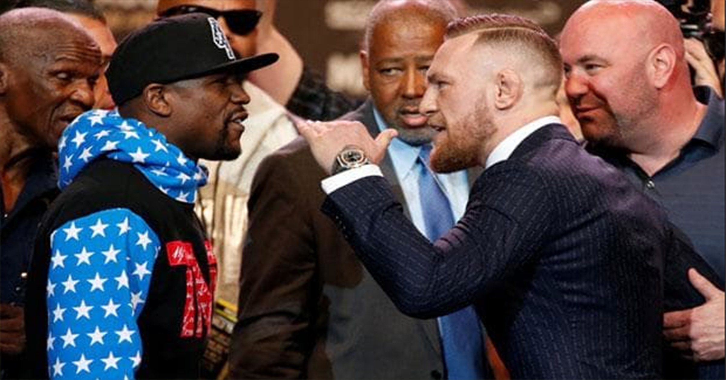 WATCH: The Final McGregor vs Mayweather Press Conference Live From Las Vegas