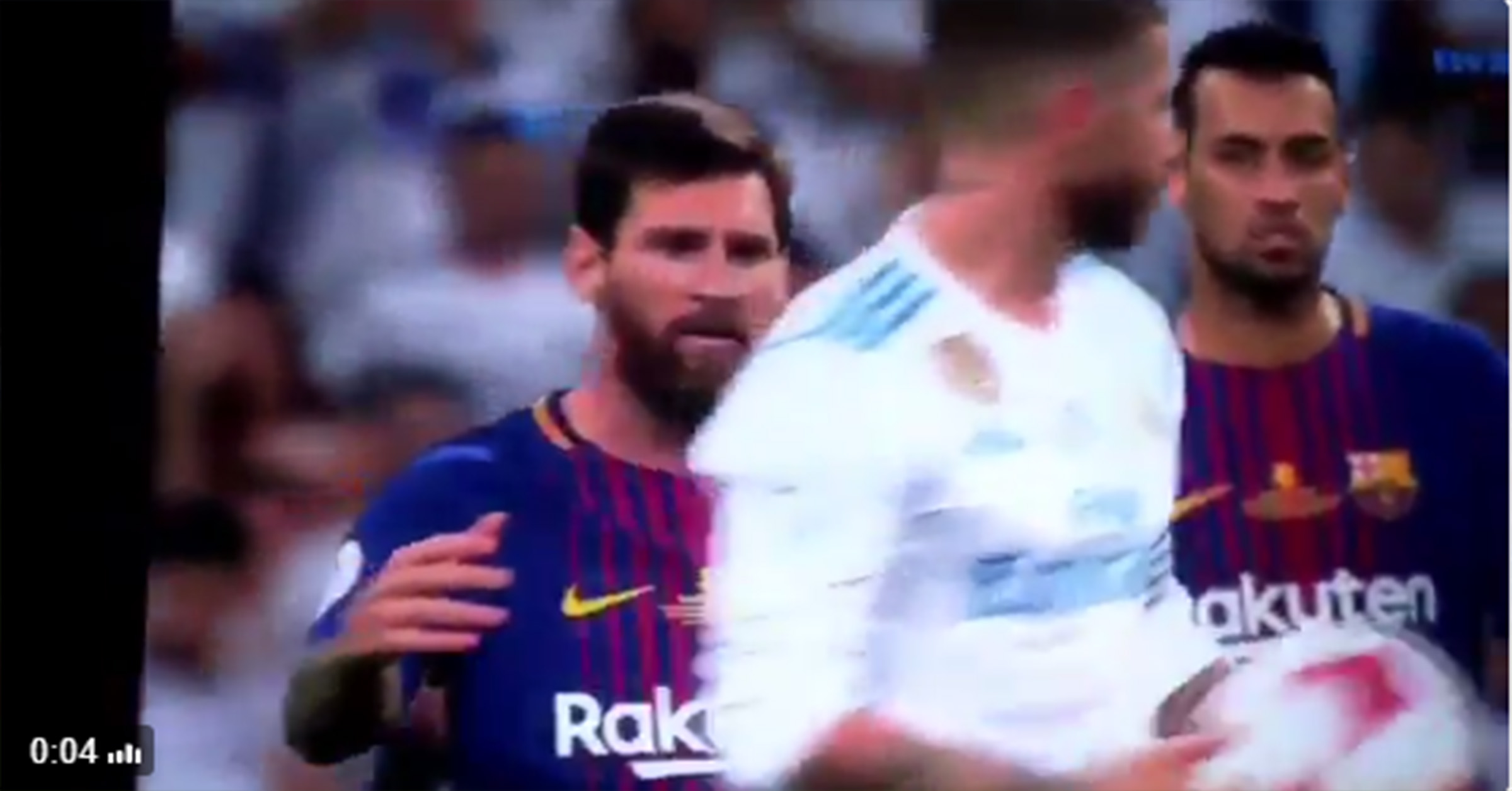 WATCH: Sergio Ramos Taking The Piss Out Of Lionel Messi During Il Classico…