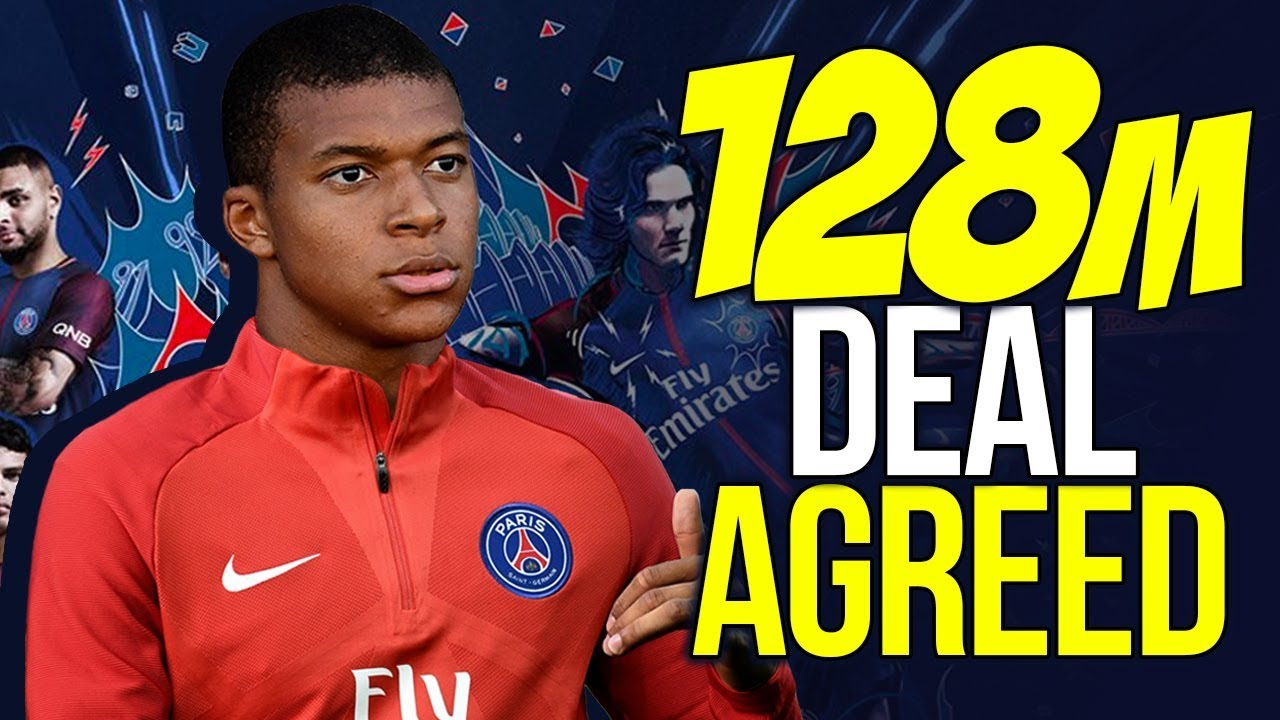BREAKING: PSG Agree £128M Deal For Kylian Mbappe