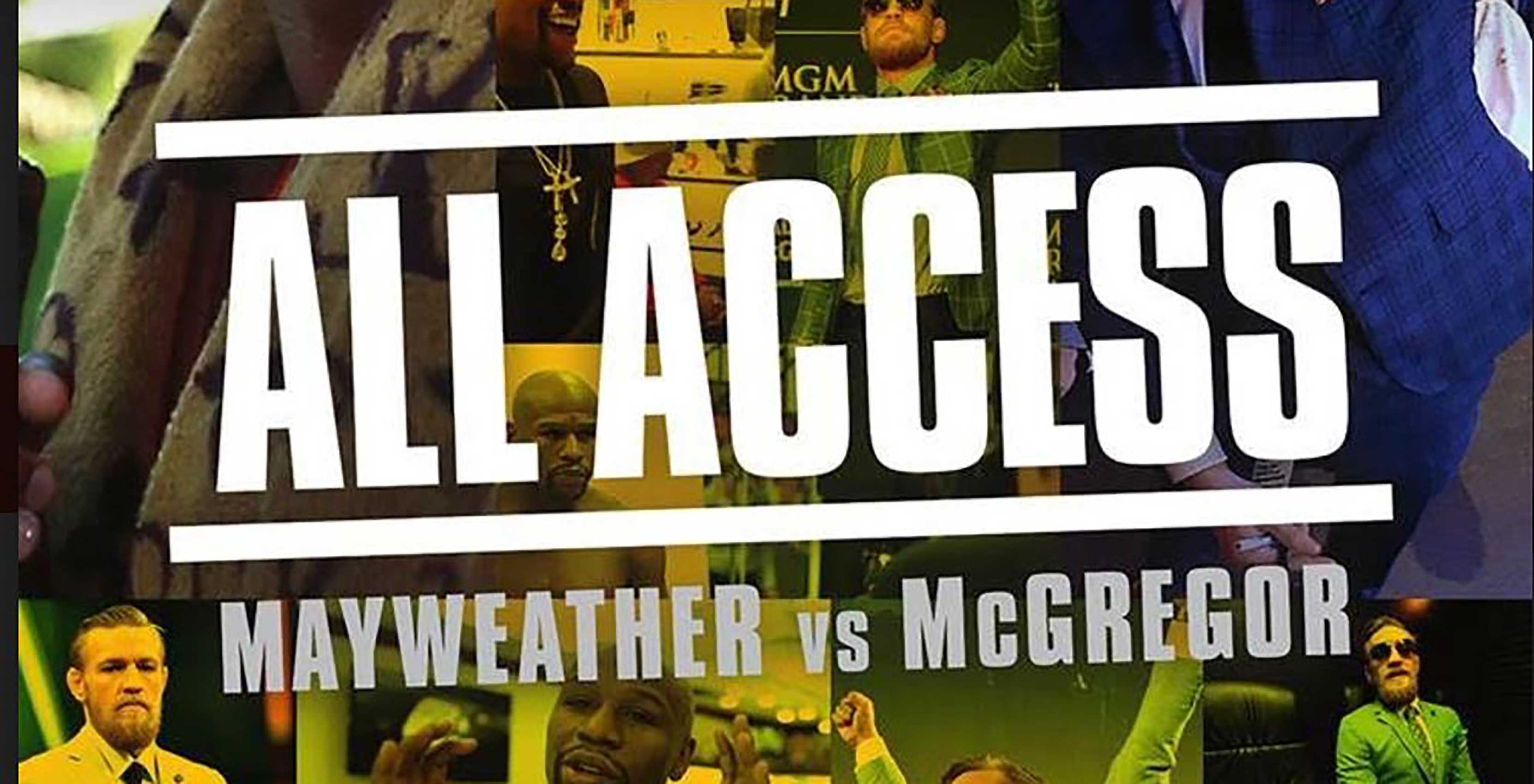 WATCH: Showtime Presents Mayweather vs McGregor – All Access