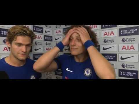 LADS: Marcos Alonso & David Luiz Post Match Interview (Man of the Match)