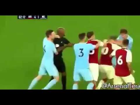 VIDEO: Jack Wilshere Sent Off for MASSIVE Fight with Man City U23 Player