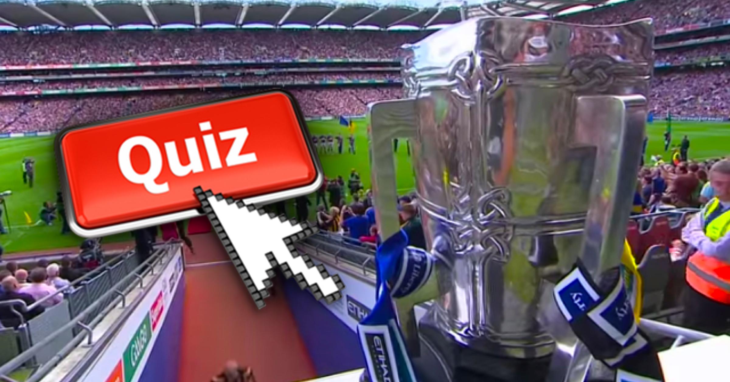 The Ultimate All-Ireland Hurling Final Winners Quiz