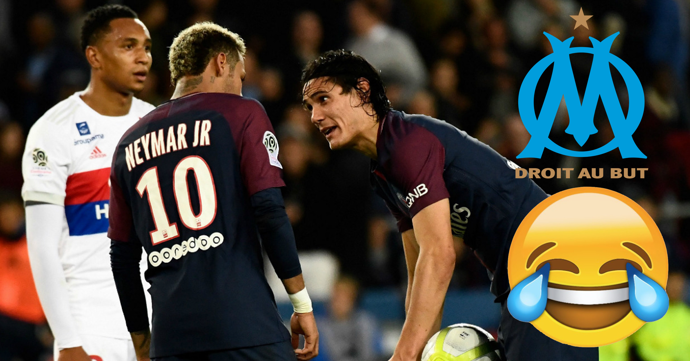 Olympique Marseille Mercilessly Troll PSG About The Ridiculous Cavani/Neymar Situation