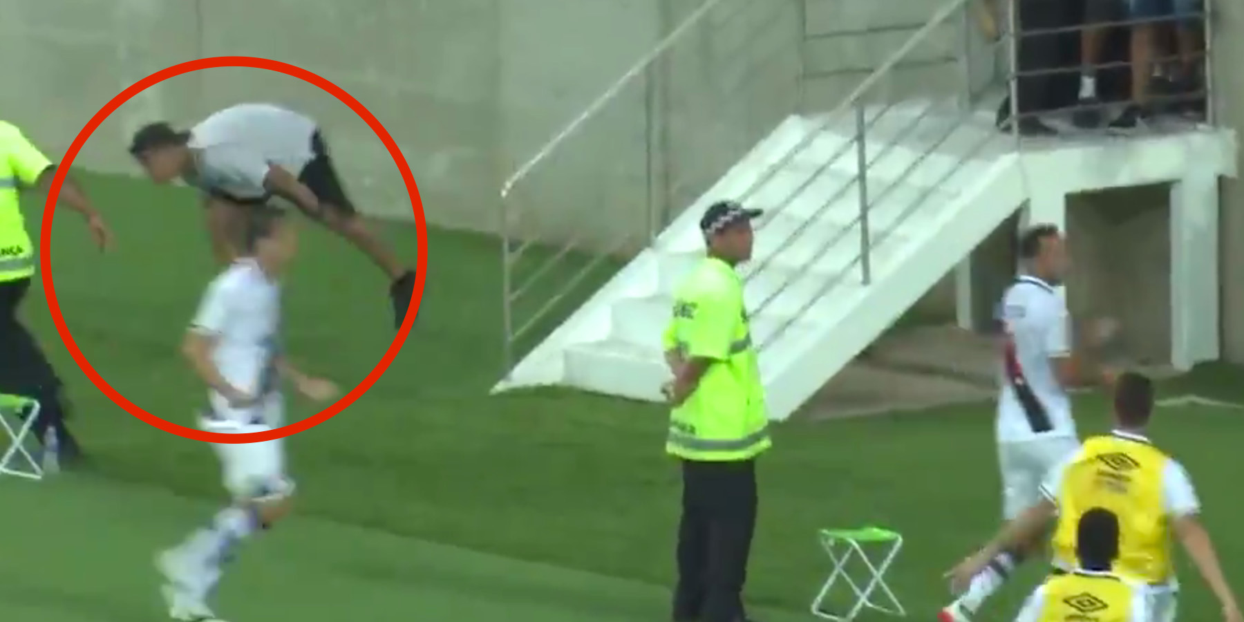 WATCH: This Is Why You Shouldn't Invade The Pitch When You're Pissed